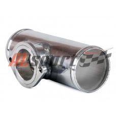 Алюминевая труба с адаптером для blow off Greddi Ф57мм
