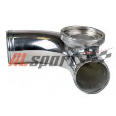 Алюминевая труба с адаптером для blow off HKS Ф51мм 90 градусов