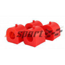 Втулка стабилизатора LADA 2101 Полиуретан Красный 2 штуки