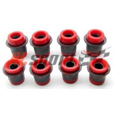 Шарнир верхнего рычага LADA 2101 Полиуретан Красный 4 штуки
