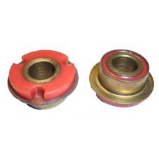 Шарнир растяжки задний LADA 2108 Полиуретан Красный 4 штуки