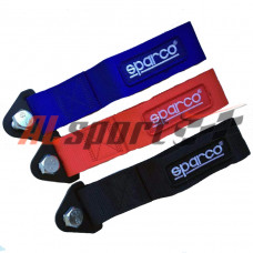 Буксировочная стропа Sparco style синия