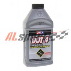 Тормозная жидкость UNIX 0,455 литр ДОТ-4