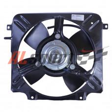 Вентилятор системы охлаждения LADA 2108 с кожухом и  резистором