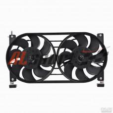 Вентилятор системы охлаждения LADA 21214 с кожухоми и  резистором