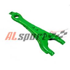Вилка сцепления LADA 2101-2107 усиленная Turbotema зеленая