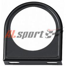 Подиум на 1 прибор плоский черный  52 мм