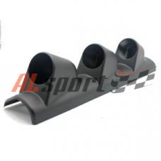 Подиум на 3 прибора универсальный на переднюю стойку черный 52 мм