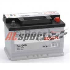 Аккумулятор 70 А/ч BOSCH Silver 570 409 064 обратная R+ EN 640A 278x175x190 S3 0