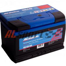Аккумулятор 77 А/ч ACDelco GM Silver АКБ 77-З-R Обратная Полярность