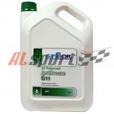Антифриз готовый G11 GT OIL Polarcool зеленый, 5 кг