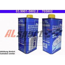 Тормозная жидкость ATE 1.0 литр. DOT4