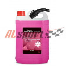 Жидкость омывателя незамерзающая -20C FORTECH с лейкой 4 литра  (АР FL1001