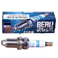 Свеча зажигания BERU Ultra-X UXF56 (0002345601) комплект 4 шт.