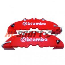 Накладки на суппорт BREMBO STYLE красные 19 см