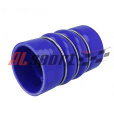 Силиконовый компенсатор  63 Х L145  (синий)