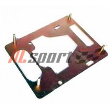 Плита для а/м LADA 2101-2107 ЭУР (Электро усилителя руля) гальванизированная