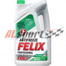 Антифриз готовый G11Felix PROLONGER готовый -40C зеленый 5 кг