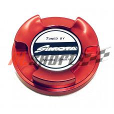 Крышка маслозаливной горловины тип MITSUBISHI красная