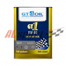Масло 5W50 GT OIL  PAO & Ester синтетика (4 ЛИТРА)