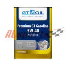 Масло 5W40 GT OIL PREMIUM GT GASOLINE полусинтетика (4ЛИТРА) API SN/CF