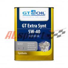 Масло 5W40 GT OIL EXTRA SYNTсинтетика (4ЛИТРА) API SN/CF
