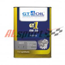 Масло 0W30 GT OIL GT1 синтетика (4ЛИТРА) API SN