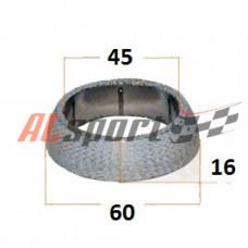 Кольцо глушителя армировное конусное D 60 x 45 x 16